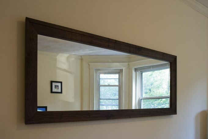 Walnut Mirror by Infusion Furniture
