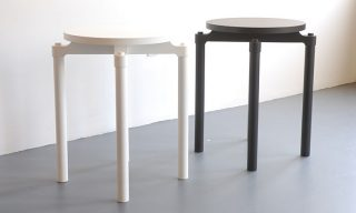 Modern furniture design - Cylinder side tables by Infusion Furniture