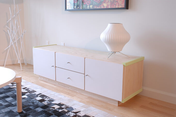 Cube Cabinet by Infusion Furniture - fully customizable cabinet
