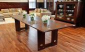 Console Dining Table in unfolded state - Infusion Furniture