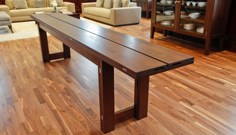 Console dining table infusion furniture - Table console pliable ...
