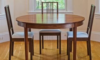 Compact Round Dining Table