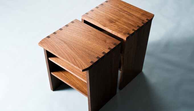 Tank side table infusion furniture for Table joints