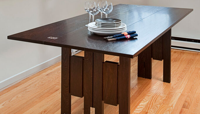 ​​folding dining table