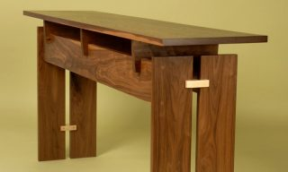 Modern console table design by Infusion Furniture - Trilogy Table