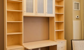​custom wall unit