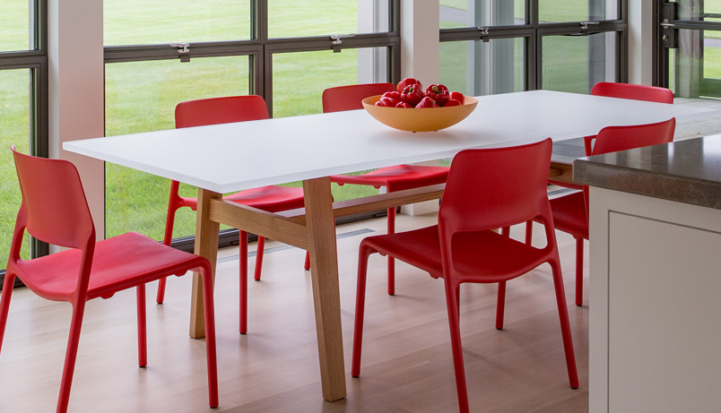 Acrylic Dining Table - Infusion Furniture