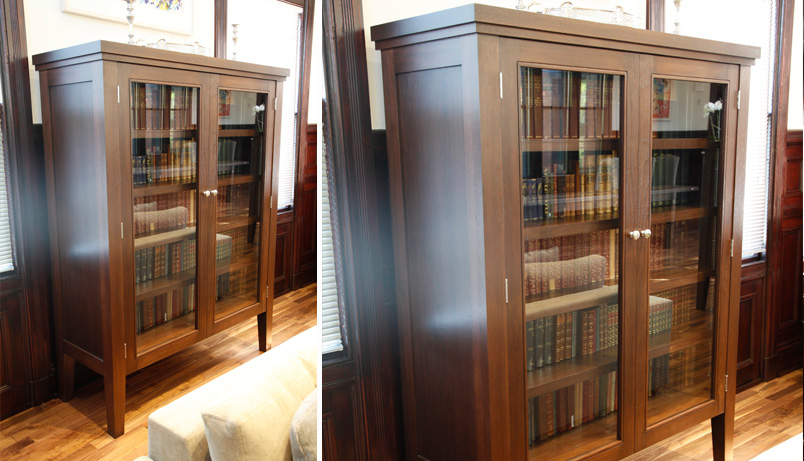 Custom library cabinet display cabinets infusion furniture Home furniture victoria street