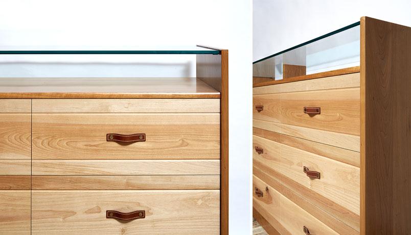 Glass Top Dresser